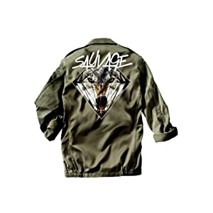 Sauvage - Veste militaire Wolf