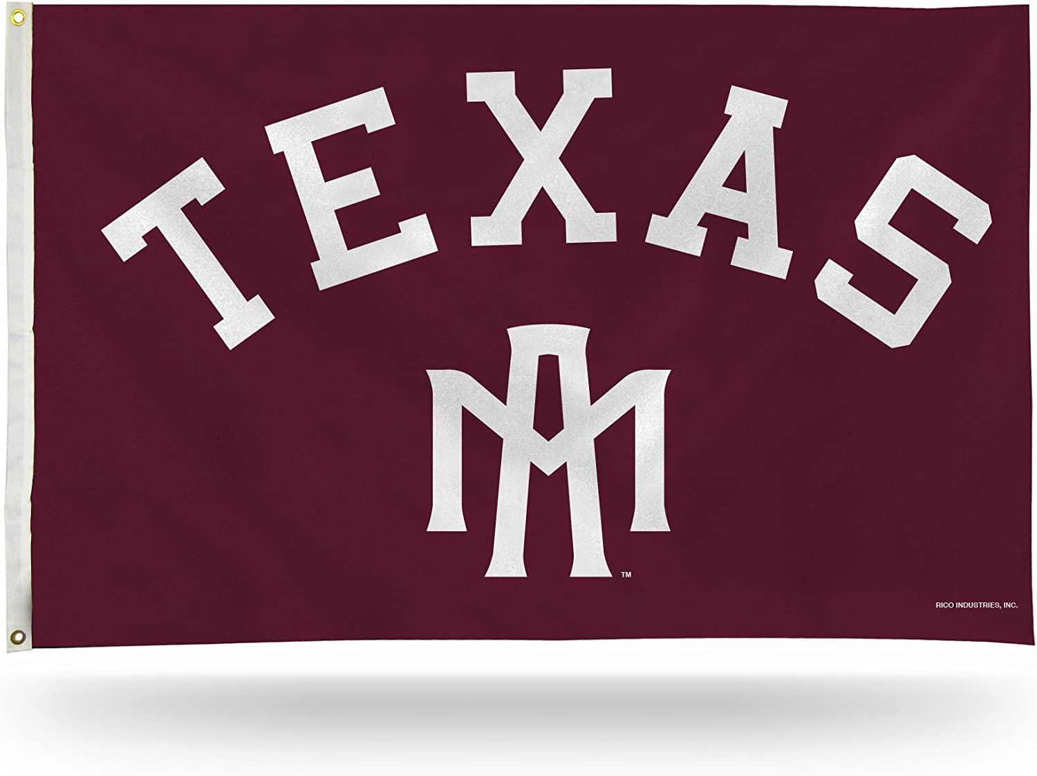NCAA Texas A&M Aggies 3-Foot by 5-Foot Single Sided Banner Flag with Grommets