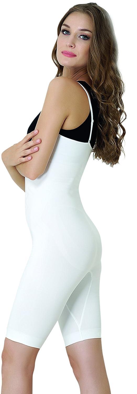 UnsichtBra Shapewear Bodysuit Body, ausgespartes neckline, long leg (sw_2100)