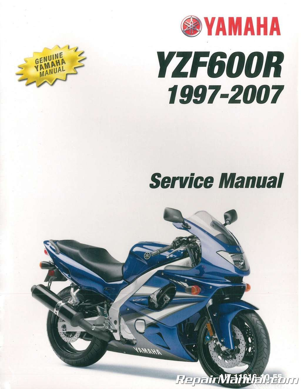 LIT-11616-10-55 1997-2007 Yamaha YZF600 Service Manual: Manufacturer:  Amazon.com: Books