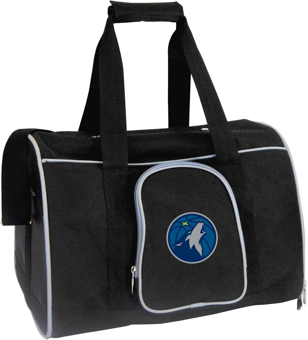 Denco NBA Minnesota Timberwolves Premium Pet Carrier