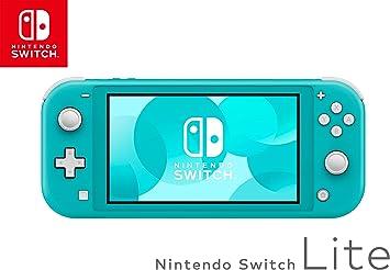 Nintendo Switch Lite - Consola con tarjeta micro SD y adaptador SPSE 128 GB, color turquesa: Nintendo: Amazon.es: Electrónica