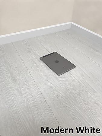 8 Mm Laminat Holz Bodenbelag Packungen V Groove Ac4 Weiß Grau