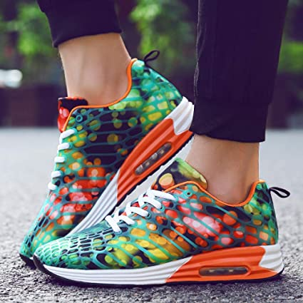 7f1d5849d764a Amazon.com : JIAODANBO Four Seasons Colorful Outdoor Running Shoes ...