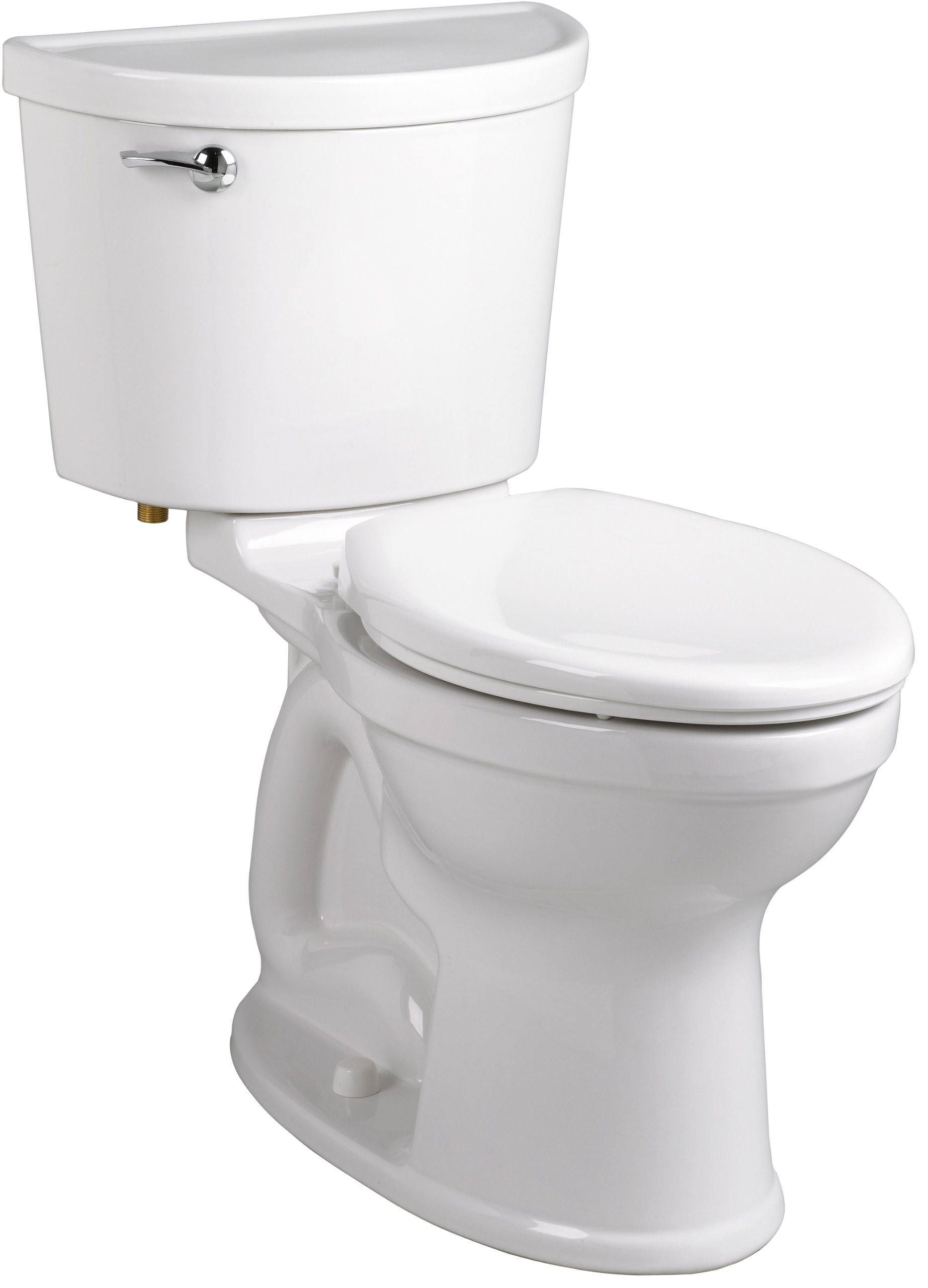American Standard 211AA.104.020 Champion PRO Right Height 12-Inch Rough-In Elongated Toilet Combination Less Seat, White