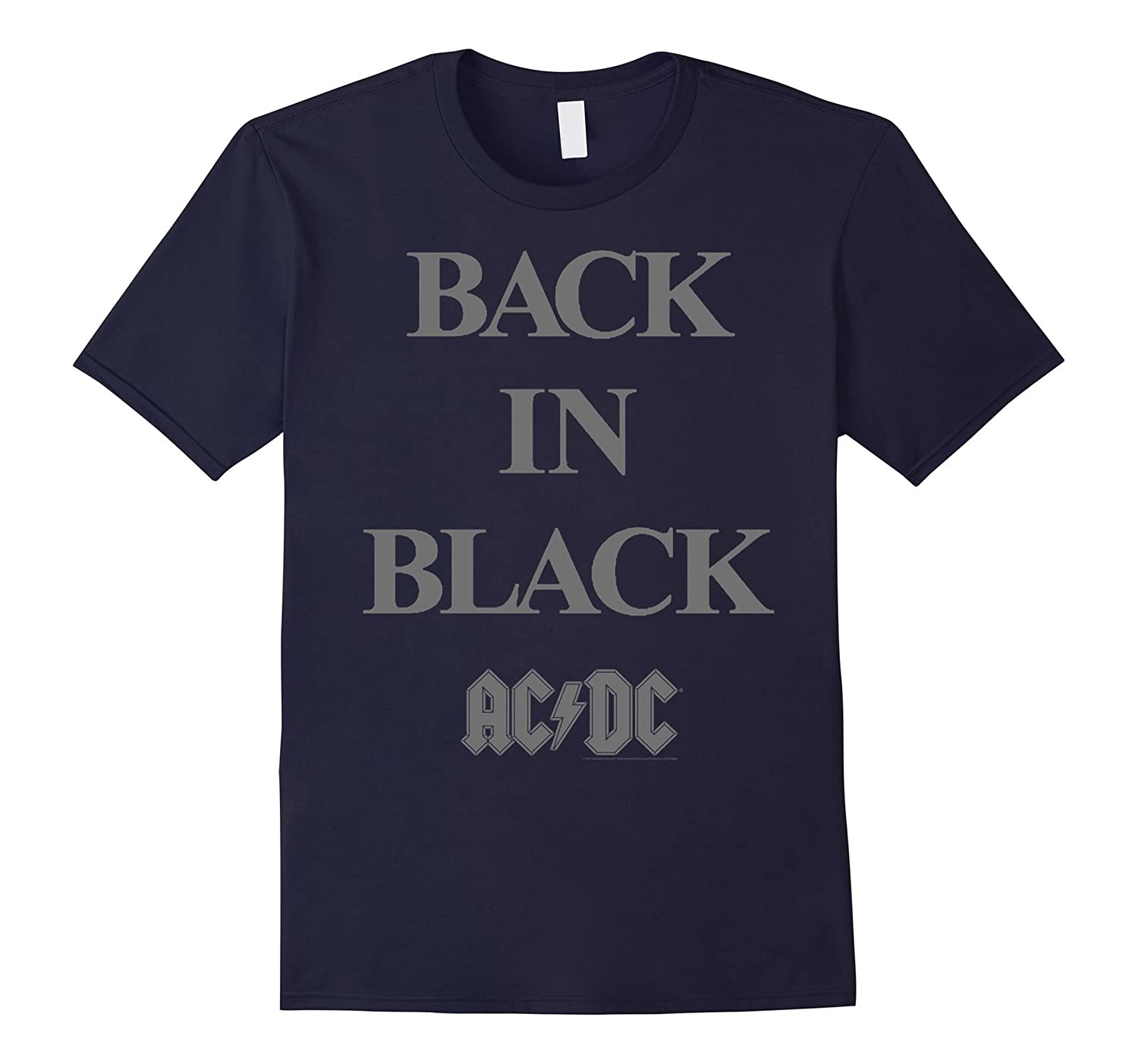 ACDC - Back in Black T-Shirt-TJ