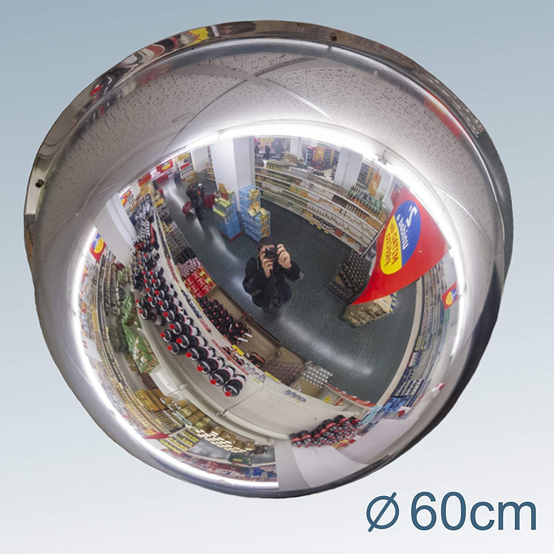 No Screws Needed Convex Mirror 60 cm Professional Traffic Safety Mirror Observation Mirror Inspection Mirror