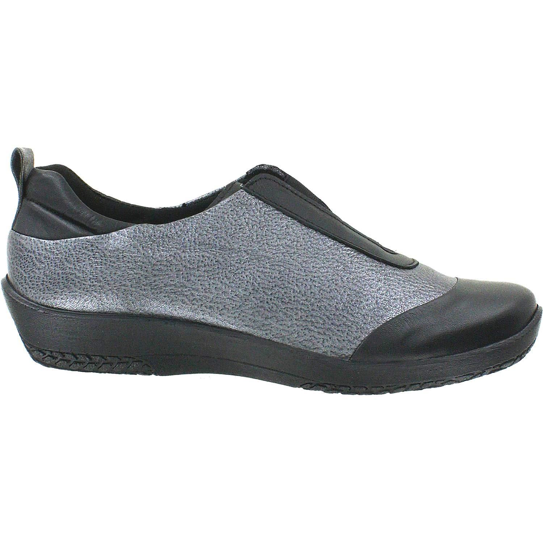 svart    Pewter läder Arcopedico Woherrar Vanda svart  Pewter läder  online-försäljning