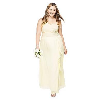 Debenhams Damen Kleid Gelb gelb Gr. 50, gelb: Debut: Amazon.de ...