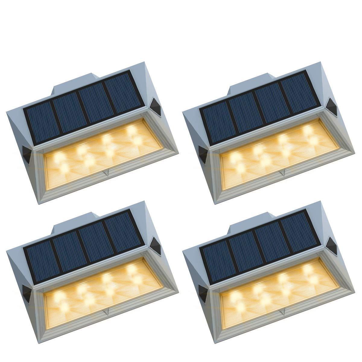 Roopure Warm White Solar Deck Light
