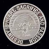 2007 Anaheim Ducks Silver Coin Stanley Cup Champs