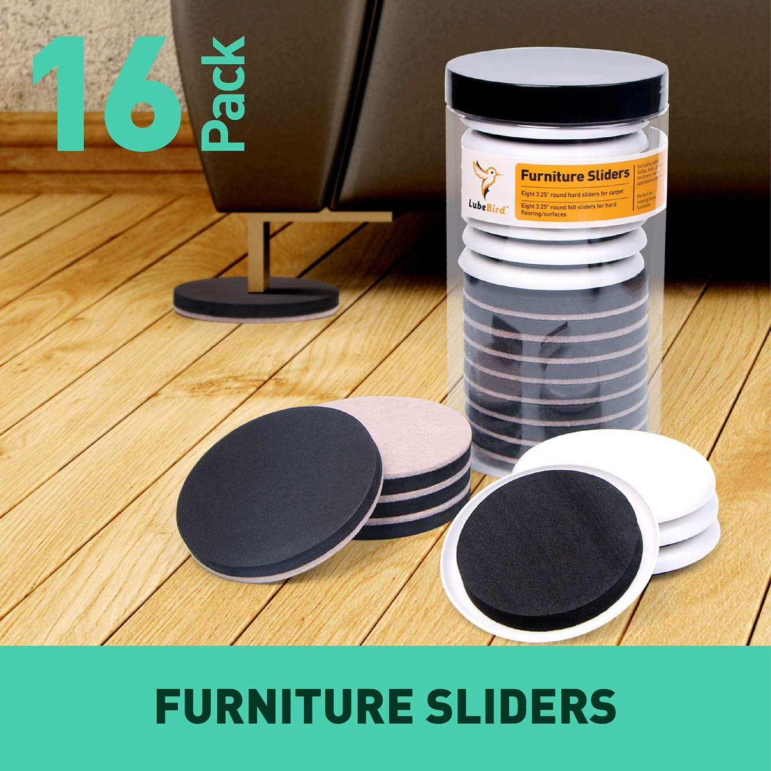 Premium Heavy Furniture Moving Pads For Wood Floor,Furniture