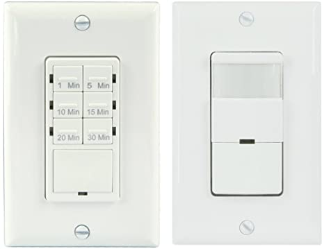 Topgreener bathroom fan timer switch and light sensor switch topgreener bathroom fan timer switch and light sensor switch control30 minute timer preset mozeypictures Gallery