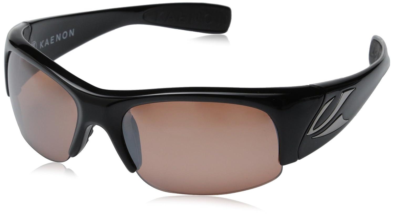 7abc3eabc58 Amazon.com  Kaenon Men s Hard Kore Polarized Shield Sunglasses ...