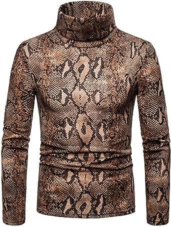 Qiangjinjiu Mens Zip Up Long Sleeve Slim Fit Sweater Casual Jumper Pullover
