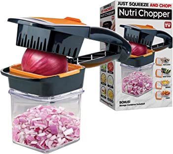 Nutrichopper with fresh-keeping container – Multi-purpose Food Chopper