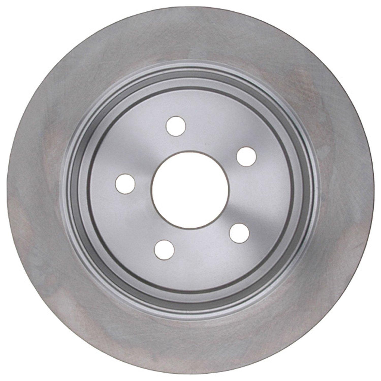 ACDelco 18A753A Advantage Non-Coated Rear Disc Brake Rotor