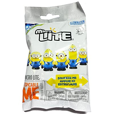 Despicable Me Minions Micro Lite Mystery Pack - 1 Blind Pack: Toys & Games