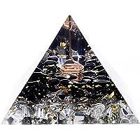 Pirámide de orgonita con de protección EMF hecha