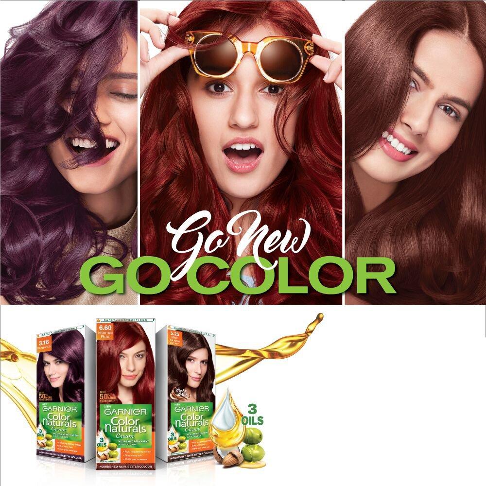 Buy Garnier Color Naturals Shade 525 Rich Mocha Brown 70ml 40g