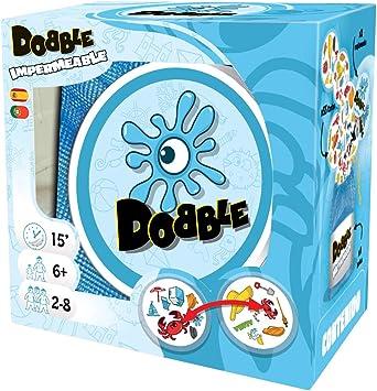 Asmodee - Dobble Waterproof, Juego de cartas impermeable ...