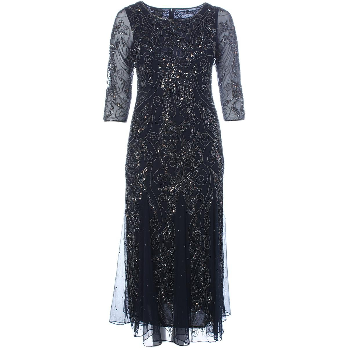 1920s Style Dresses, Flapper Dresses Pisarro Nights Womens Special Occasion Dress £184.27 AT vintagedancer.com