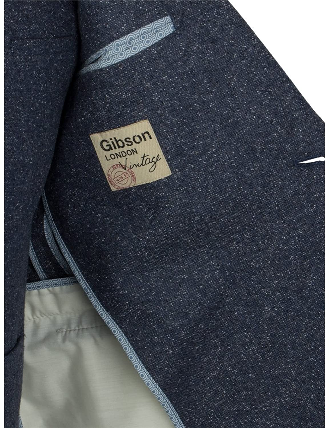 Men's Gibson Donegal Casual Jacket - Blue