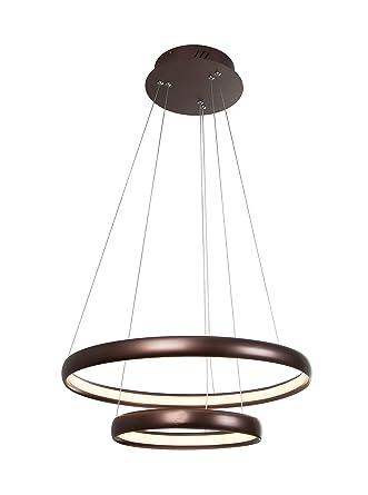 Interfan lampara de techo Cromo: Amazon.es: Iluminación