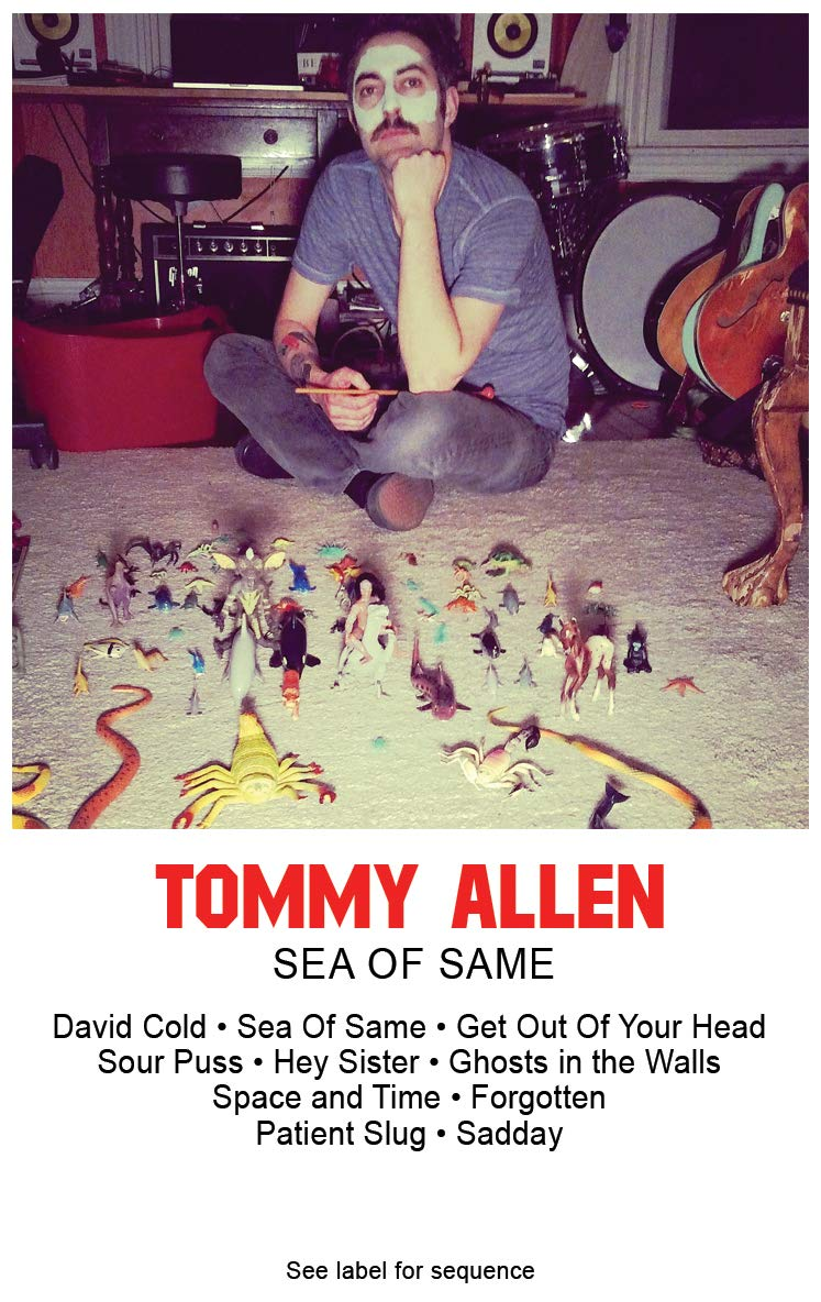 Cassette : Tommy Allen - Sea Of Same (Cassette)