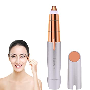 Eyebrow trimmer, Painless Eyebrow Hair Remover, Hair Removal for Women,  Protable Brows Hair
