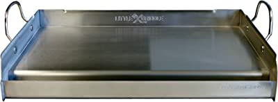 Little Griddle GQ230 100% Stainless Steel Professional Quality Griddle with Cross Bracing, 25