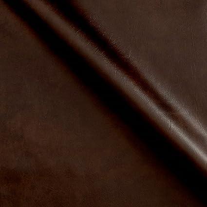 4f6fb616e8 Amazon.com: Plastex Fabrics Faux Leather Caprice Brown Fabric by The Yard