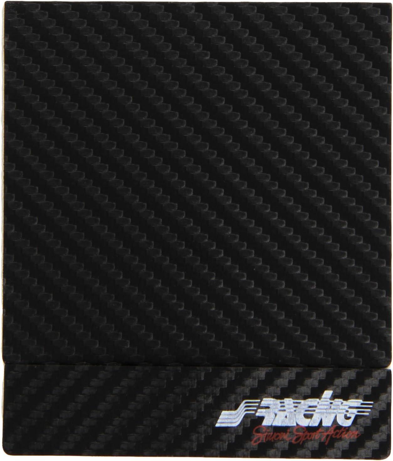 Simoni Racing PBSR//K Porta Assicurazione adesivo effetto carbonio