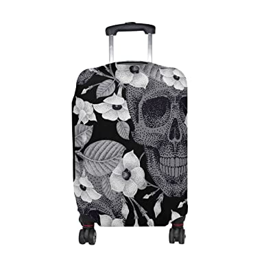 GIOVANIOR Floral Woman Luggage Cover Suitcase Protector Carry On Covers