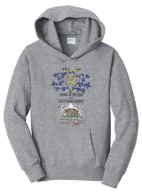 Tenacitee Babys Living in California Oregon Roots Shirt