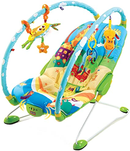 4cb9253600c3 Tiny Love Gymini Bouncer Chair with Music