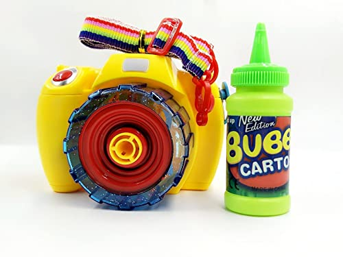 Bubble Camera Music Bubble Toy Bubble Machine With Bubble Solution For Kids Outdoor And Indoor Bubble Fun