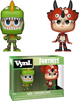 Funko Vynl: Fortnite Rex & Tricera Ops Toy