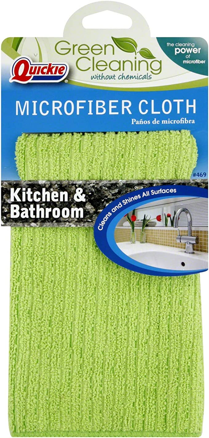 Duzzit Twin Pack Microfibre Cloth Bathrooms Cleaning Dry /& Shine