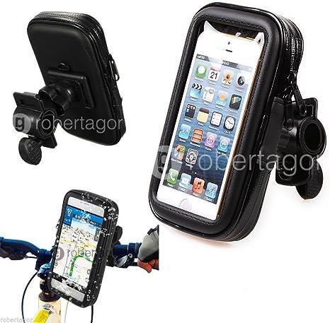 robertagor® Funda Impermeable Soporte Bici Moto para móviles ...