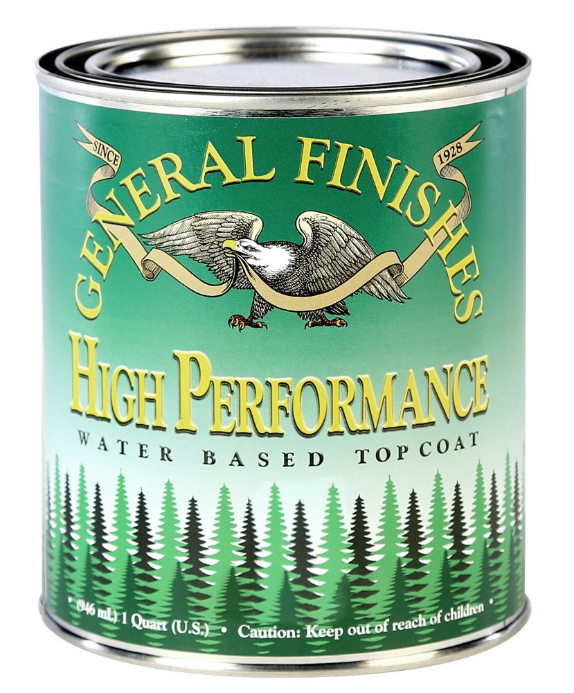General Finishes Water Based High Performance Polyurethane Top Coat Semi-Gloss Gallon by General Finishes