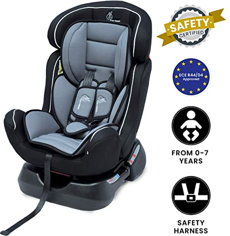 Fabulous R For Rabbit Jack N Jill Grand The Innovative Convertible Car Seat For Baby Kids From 0 7 Years Black Grey Bralicious Painted Fabric Chair Ideas Braliciousco