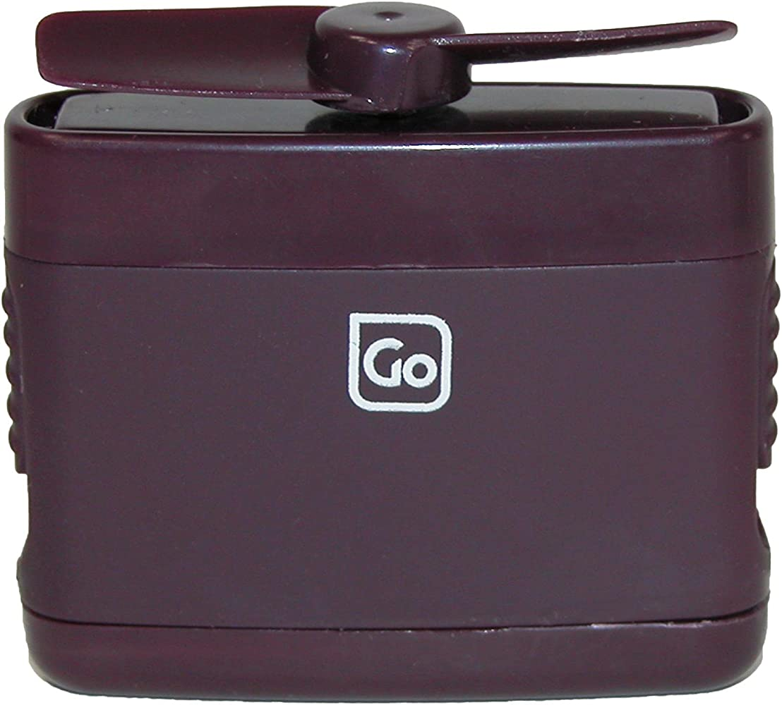 Go Travel Micro - Ventilador de tamaño Personal con Hoja retráctil ...