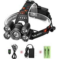 Neolight Super Bright 5 LED Rechargeable Headlamp