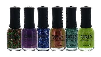 Amazon.com: Orly Nail Polish Color Lacquer Set 6-Piece Collection ...