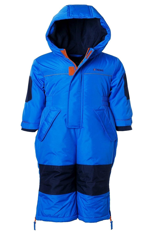 iXtreme Snow Mobile 1 Piece Snowsuit for Boys, Babies & Toddlers IX678267-BLK-12M