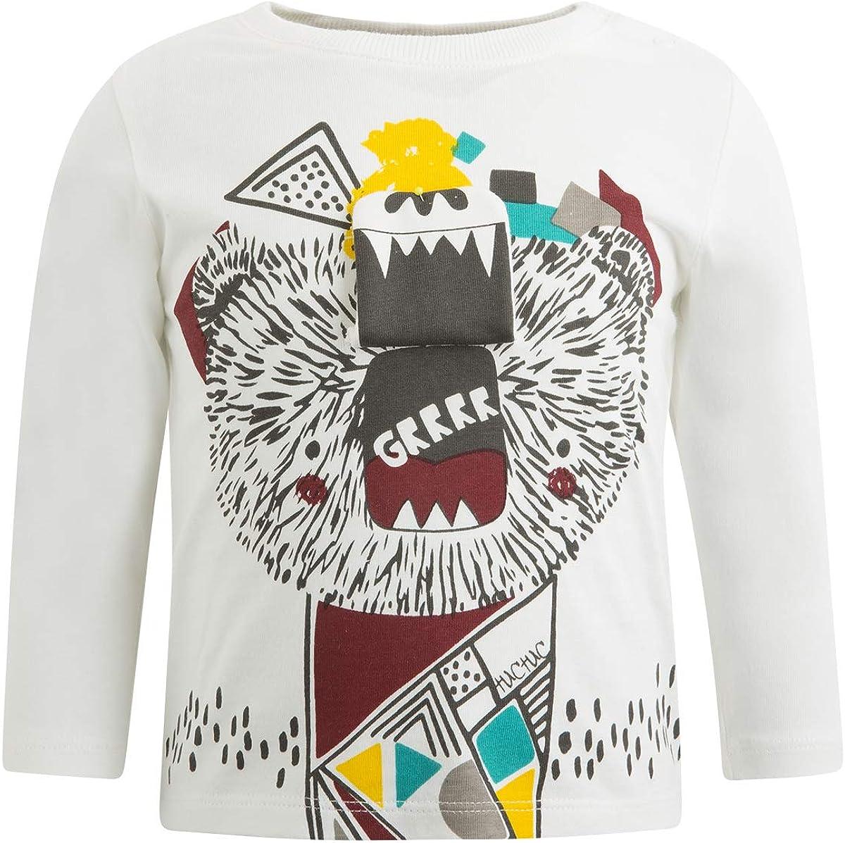 Tuc Tuc Baby-Jungen Camiseta Punto Media Ni/ño Langarmshirt
