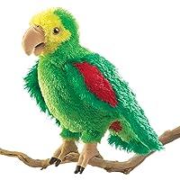 Folkmanis Amazon Parrot Hand Puppet