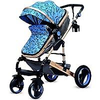 R for Rabbit Hokey Pokey - The Ultimate Baby Stroller - Pram for Baby/Kids (Blue)