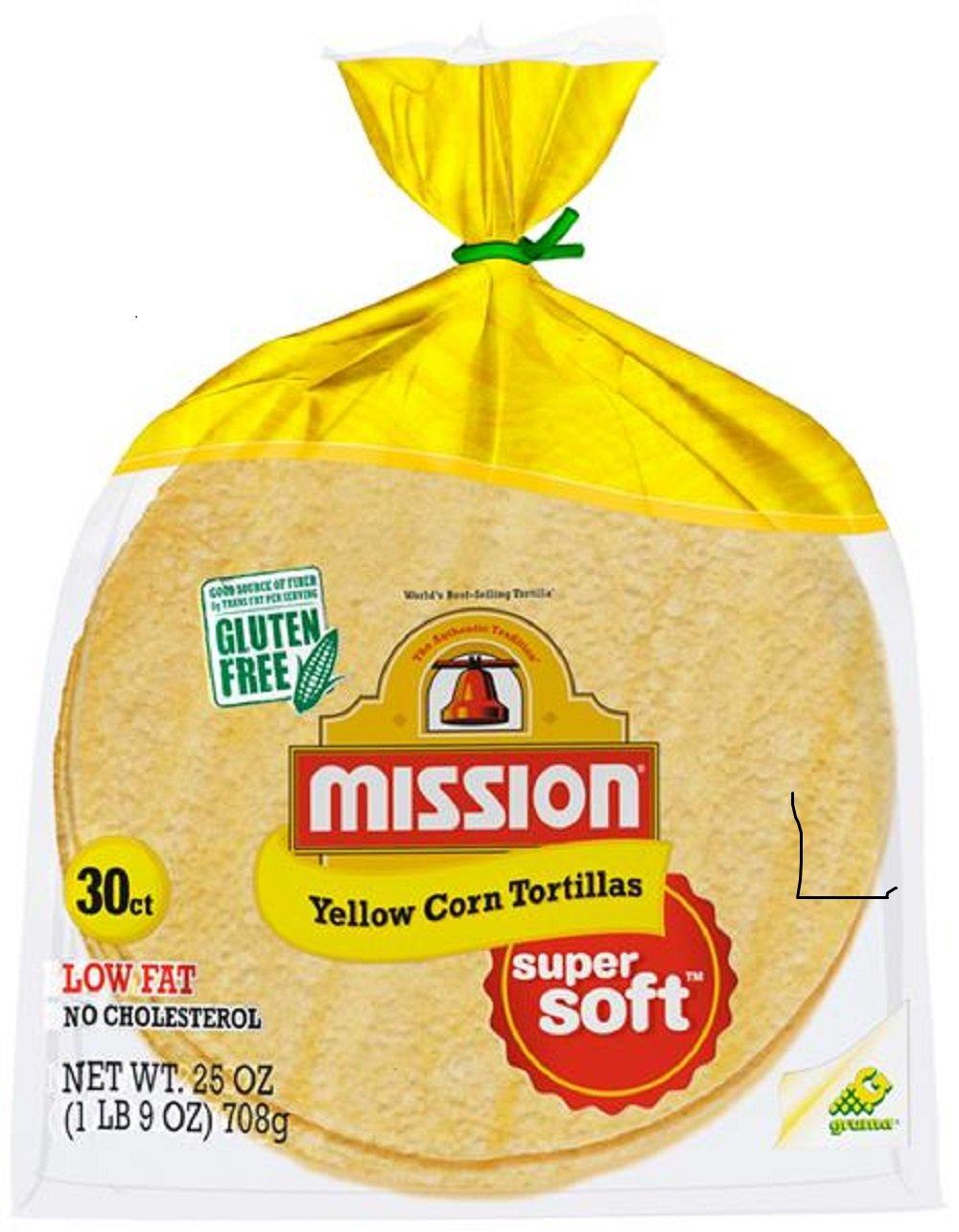 Amazon Com Mission White Corn Tortillas 30 Count 25oz